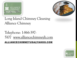 Long Island Chimney Cleaning Company, Alliance Chimney