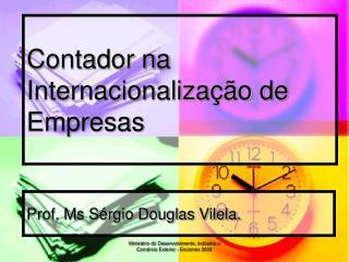 Contador na Internacionaliza  o de Empresas