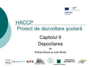 HACCP   Proiect de dezvoltare scolara