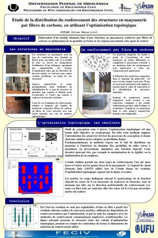 L optimisation topologique: Les r sultats