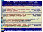 FEUSP       Programa de P s-Gradua  o     1o semestre de 2007 Semin rios de Estudos em Epistemologia e Did tica  SEED Li