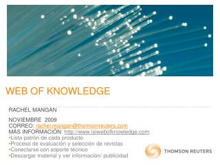 WEB OF KNOWLEDGE