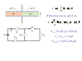 Chapter 5  Conductors, Dielectrics and Capacitance  Current and Current Density