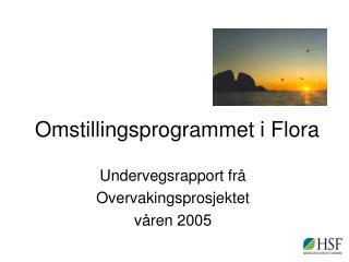 Omstillingsprogrammet i Flora