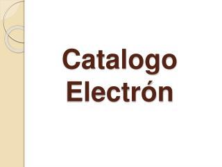 Catalogo Electr n