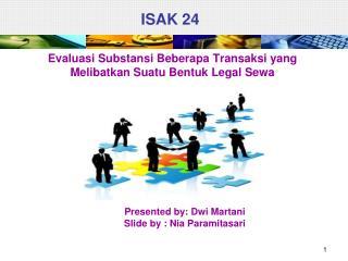ISAK 24