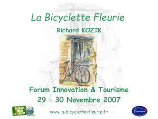 La Bicyclette Fleurie  Richard KOZIK