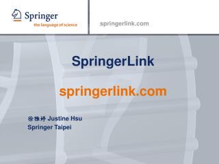SpringerLink    springerlink