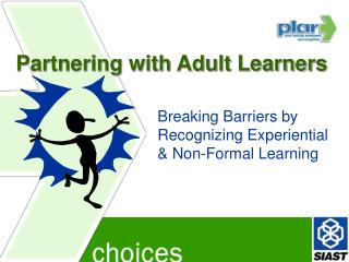 Partnering with Adult Learners