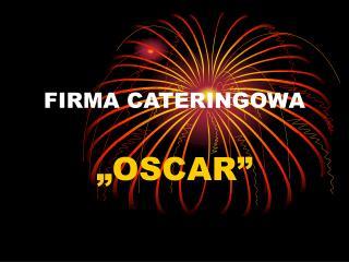 FIRMA CATERINGOWA
