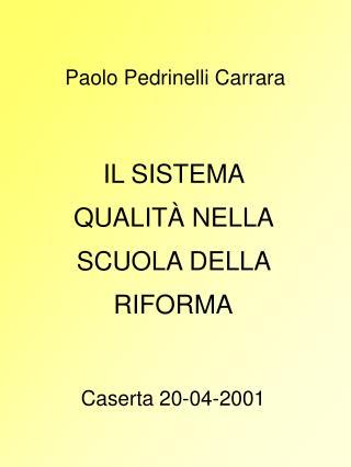 Paolo Pedrinelli Carrara