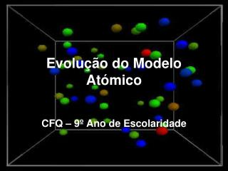 Evolu  o do Modelo At mico