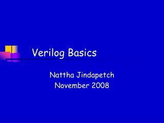 Verilog Basics