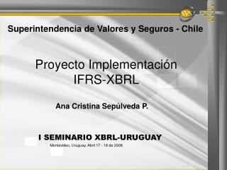 Proyecto Implementaci n  IFRS-XBRL