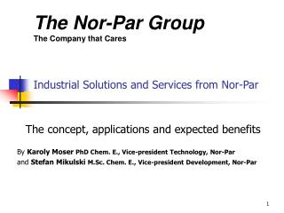Industrial Solutions and Services from Nor-Par