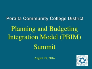 Integrated planning  budgeting