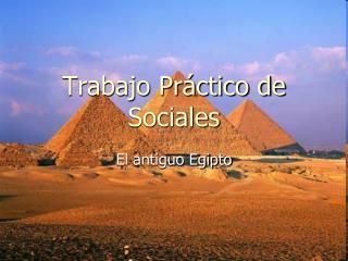 Trabajo Pr ctico de Sociales