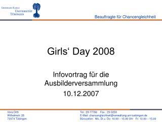 Girls  Day 2008