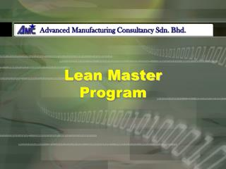 Lean Master Program
