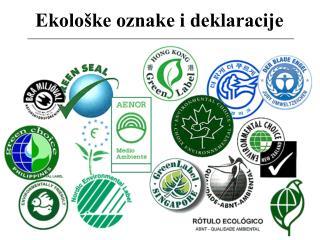 Ekolo ke oznake i deklaracije