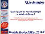 Qual o papel da Fonoaudiologia na sa de do Idoso