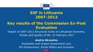 EU Structural Funds Programmes 2007-13  Public Procurement