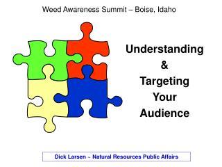 Weed Awareness Summit   Boise, Idaho