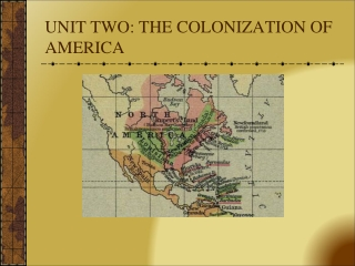 Unit 1: Colonial History 1492-1776
