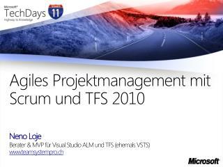 Agiles Projektmanagement mit Scrum und TFS 2010