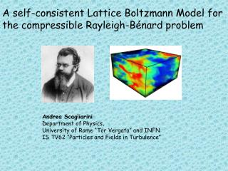 A self-consistent Lattice Boltzmann Model for the compressible Rayleigh-B nard problem