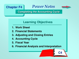 Chapter 18 Analysis and Interpretation of Financial Statements