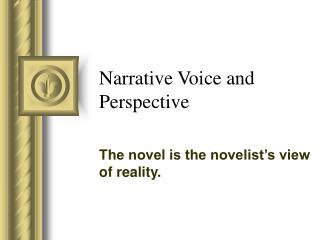 Narrative Voice and Perspective