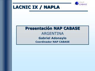 LACNIC IX
