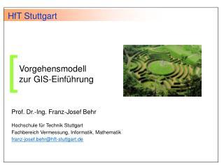 Vorgehensmodell zur GIS-Einf hrung