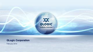 QLogic Corporation   November 2012