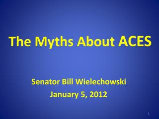 The Myths About ACES