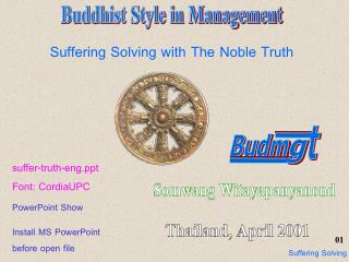Buddhist Style in Management