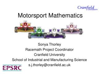 Motorsport Mathematics