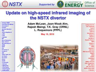 Update on high-speed infrared imaging of the NSTX divertor