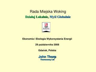 Rada Miejska Woking   Dzialaj Lokalnie, Mysl Globalnie
