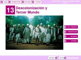 Descolonizaci n y Tercer Mundo