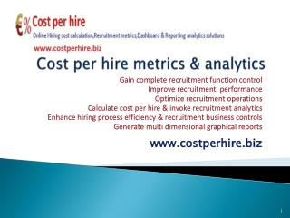 SHRM Recruitment cost per hire calculator