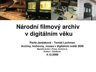 N rodn  filmov  archiv  v digit ln m veku