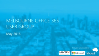 SharePoint Saturday Sydney