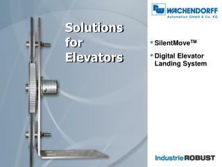 Solutions  for Elevators