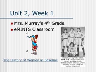 Unit 2, Week 1