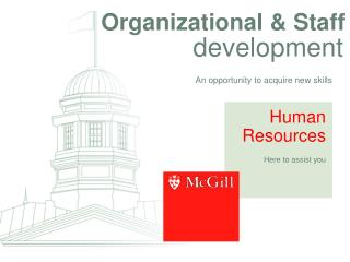 Organizational  Staff