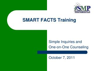 SMART FACTS Training