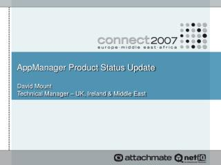 AppManager Product Status Update