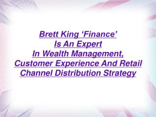 Brett King 'Finance'